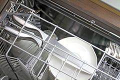 Limpe o Dishware fotos de stock royalty free