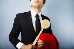 Limpe o homem de negócios Imagem de Stock Royalty Free