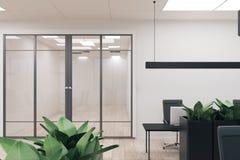 Limpe o interior do escritório ilustração royalty free