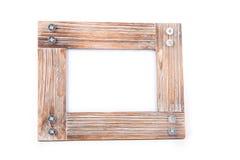 Limpe o photoframe Imagem de Stock