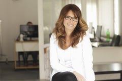 Mulher de negócios profissional moderna imagens de stock royalty free