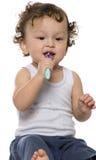 Limpe os dentes. Fotografia de Stock Royalty Free