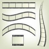 Limpe a película Imagem de Stock