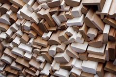 Limpe placas de contorno do corte na pilha Imagens de Stock Royalty Free