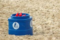 Limpe a praia fotografia de stock royalty free