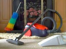 Limpeza da casa Fotografia de Stock Royalty Free