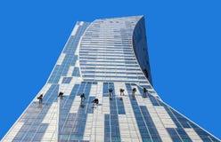 Limpeza da fachada Imagem de Stock Royalty Free