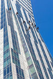 Limpeza da fachada Foto de Stock Royalty Free