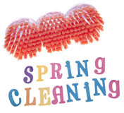 Limpeza da primavera Fotos de Stock Royalty Free