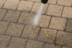 Limpeza de alta pressão Imagem de Stock