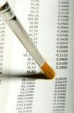 Limpeza de indicador Imagens de Stock