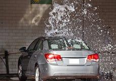 Limpeza do carro Fotografia de Stock Royalty Free