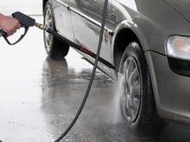 Limpeza do carro Imagem de Stock