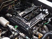 Limpeza do motor de automóveis imagem de stock royalty free