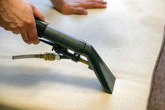 Limpiador de la extracción del espray Imagen de archivo libre de regalías