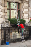 Limpiador de ventana Imagen de archivo libre de regalías