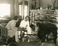Limpiar la chimenea fotografía de archivo