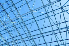 Limpid round ceiling Stock Photo