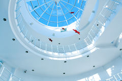 Limpid round ceiling Stock Photography