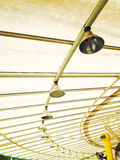 Limpid round ceiling Stock Images