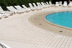 Limpid swimming pool Stock Photos