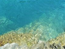 Free Limpid, Transparent And Clear Water, Pure Environment And Flowing Imagination Royalty Free Stock Images - 139102939
