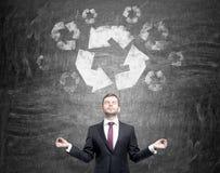 Limpie el ambiente Imágenes de archivo libres de regalías