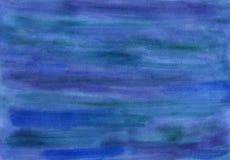 Limpie el azul y a Violet Watercolor Background ilustración del vector