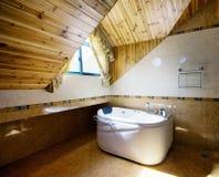 Limpie el cuarto de baño Foto de archivo libre de regalías