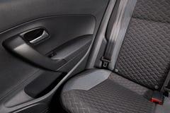 Limpie el interior del coche foto de archivo libre de regalías