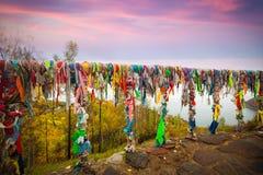 Limpie el lago Baikal Foto de archivo