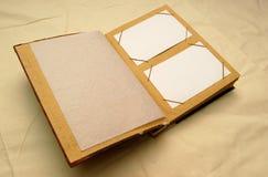 Limpie el photoalbum fotografía de archivo libre de regalías