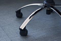 Limpie el suelo con la silla Fotos de archivo libres de regalías