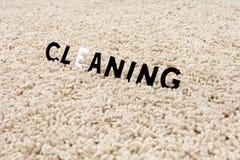 Limpie la alfombra imagen de archivo libre de regalías