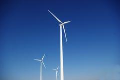 Limpie la energía eólica Fotografía de archivo