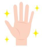 Limpie la mano Higiene de la mano Fotografía de archivo libre de regalías