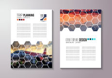Limpie la plantilla de la disposición de Infographic para el análisis de los datos y de la información Fotografía de archivo libre de regalías