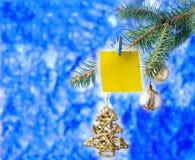 Limpie la plantilla por el Año Nuevo Foto de archivo libre de regalías