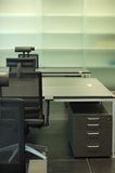 Limpie la política del escritorio Fotografía de archivo libre de regalías