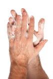 Limpie las manos Imágenes de archivo libres de regalías