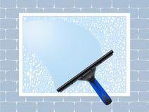 Limpie las ventanas Imágenes de archivo libres de regalías