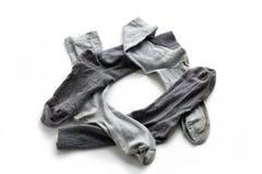 Limpie los calcetines de los hombres lavados planchados Fotos de archivo libres de regalías