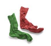 Limpie los calcetines lavados planchados del ` s de los hombres Imagen de archivo libre de regalías