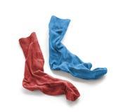 Limpie los calcetines lavados planchados del ` s de los hombres Imágenes de archivo libres de regalías