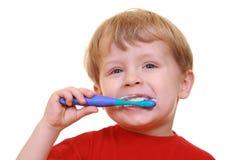 Limpie los dientes Imagen de archivo