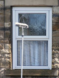 Limpieza de ventana Imagenes de archivo