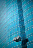 Limpieza del edificio Imagen de archivo