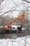 Limpieza del río de Malashka Fotos de archivo libres de regalías