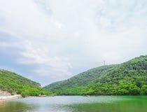 Limski Canal Limski Fjord in Istria Royalty Free Stock Photos