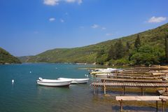 Limski channel, Croatia Stock Images